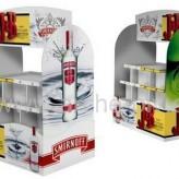 Arche publicitaire en carton : distributeur ou présentoir