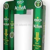 Arches publicitaires à colonnes carrées