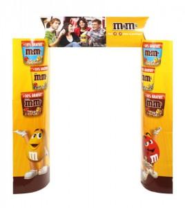 Kiosk M&M's