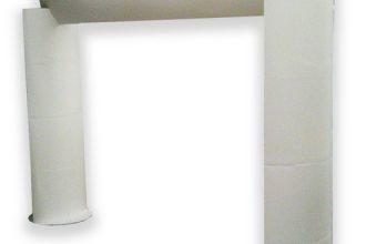 Arche bombée publicitaire : Une arme de communication massiveArche bombée en carton : une déclinaison de la gamme des arches en carton qui sont utilisées en intérieur comme outil de Plv (publicité sur lieu de vente)