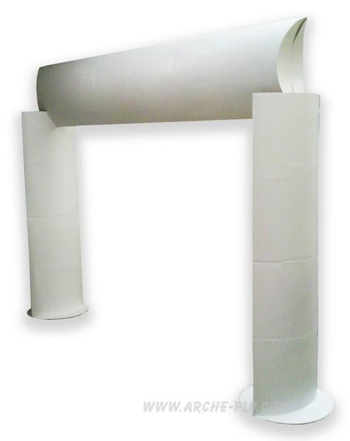 arche en carton - prototype d'arche non imprimée