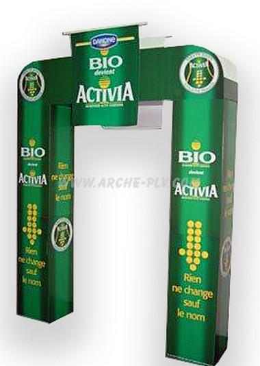 Arche en carton colonnes carrées